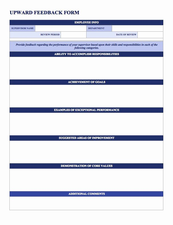 Performance Summary Example Beautiful Free Employee Performance Review Templates Smartsheet
