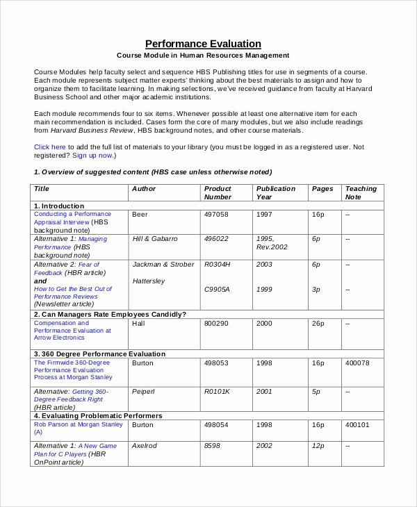 Performance Summary Example Best Of Performance Review Example 8 Samples In Pdf Word