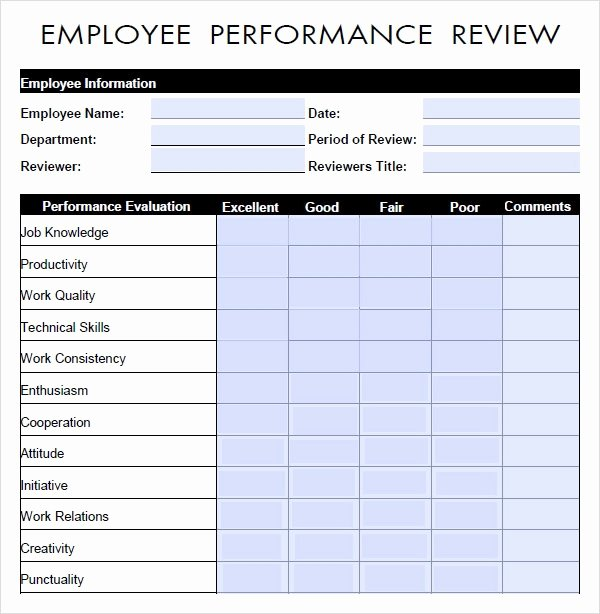 Performance Summary Example Inspirational Performance Evaluation 9 Download Free Documents In Pdf