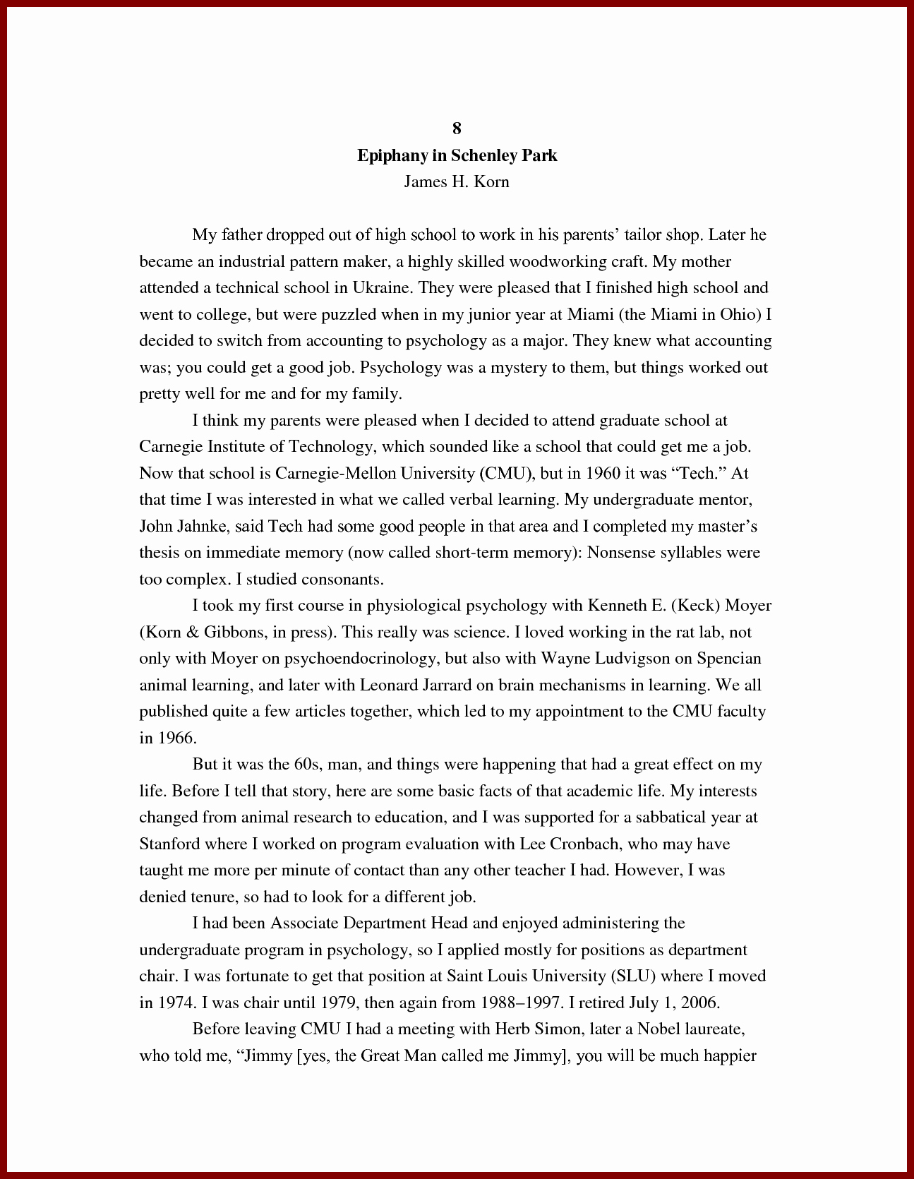 Personal Background Essay Examples Elegant 15 Author Biography Example