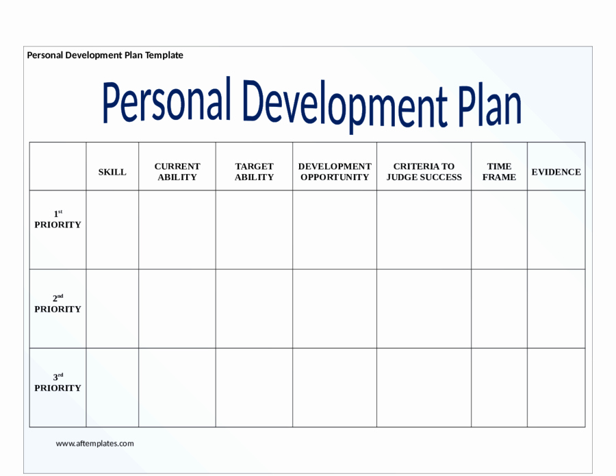 Personal Development Plan Childcare Example Beautiful Personal Development Plan Template How to Write Personal