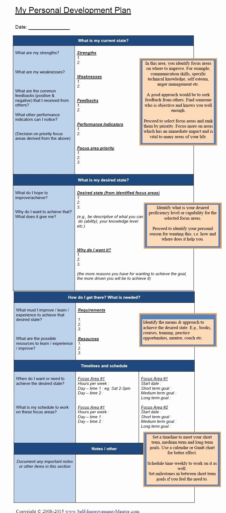 Personal Development Plan Childcare Example Best Of Best 25 Personal Development Plan Template Ideas On