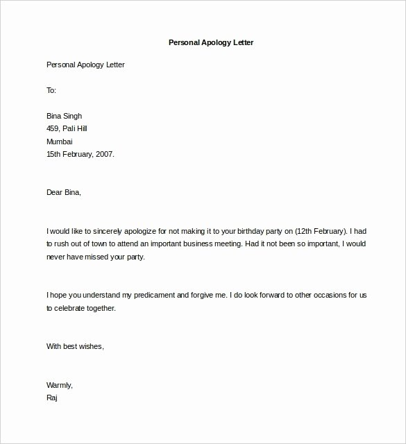 Personal Letter format Template Best Of Personal Letterhead Templates