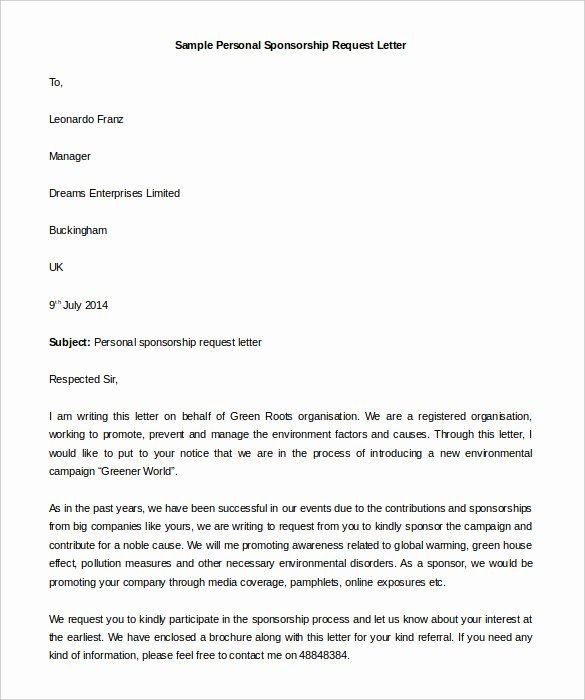 Personal Letter format Template Fresh 40 Personal Letter Templates Pdf Doc