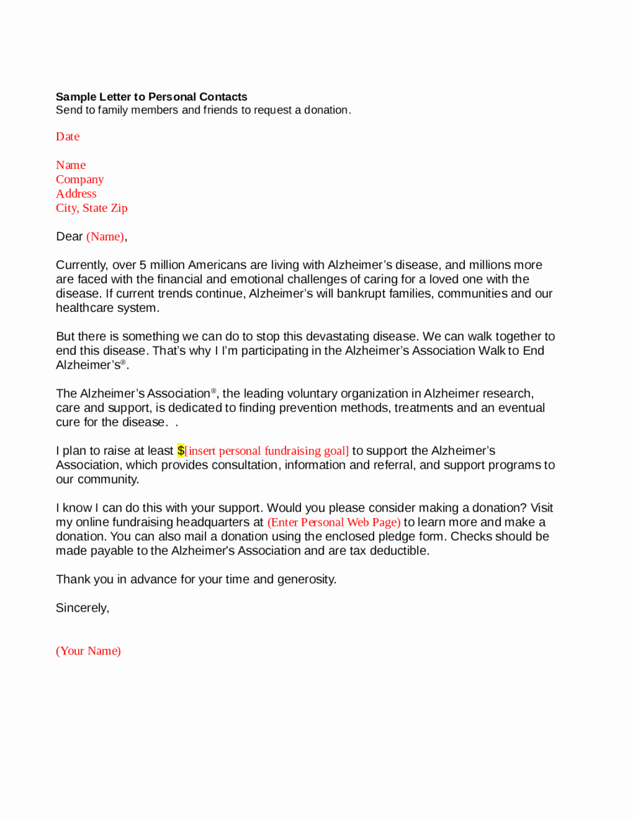 Personal Letter format Template New 2018 Personal Letter format Fillable Printable Pdf