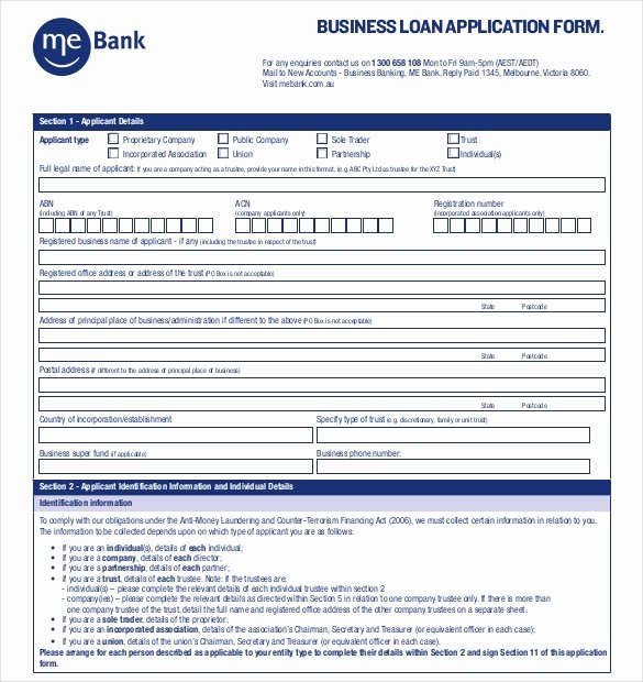 Personal Loan forms Template Inspirational 10 Loan Application Templates Pdf Doc