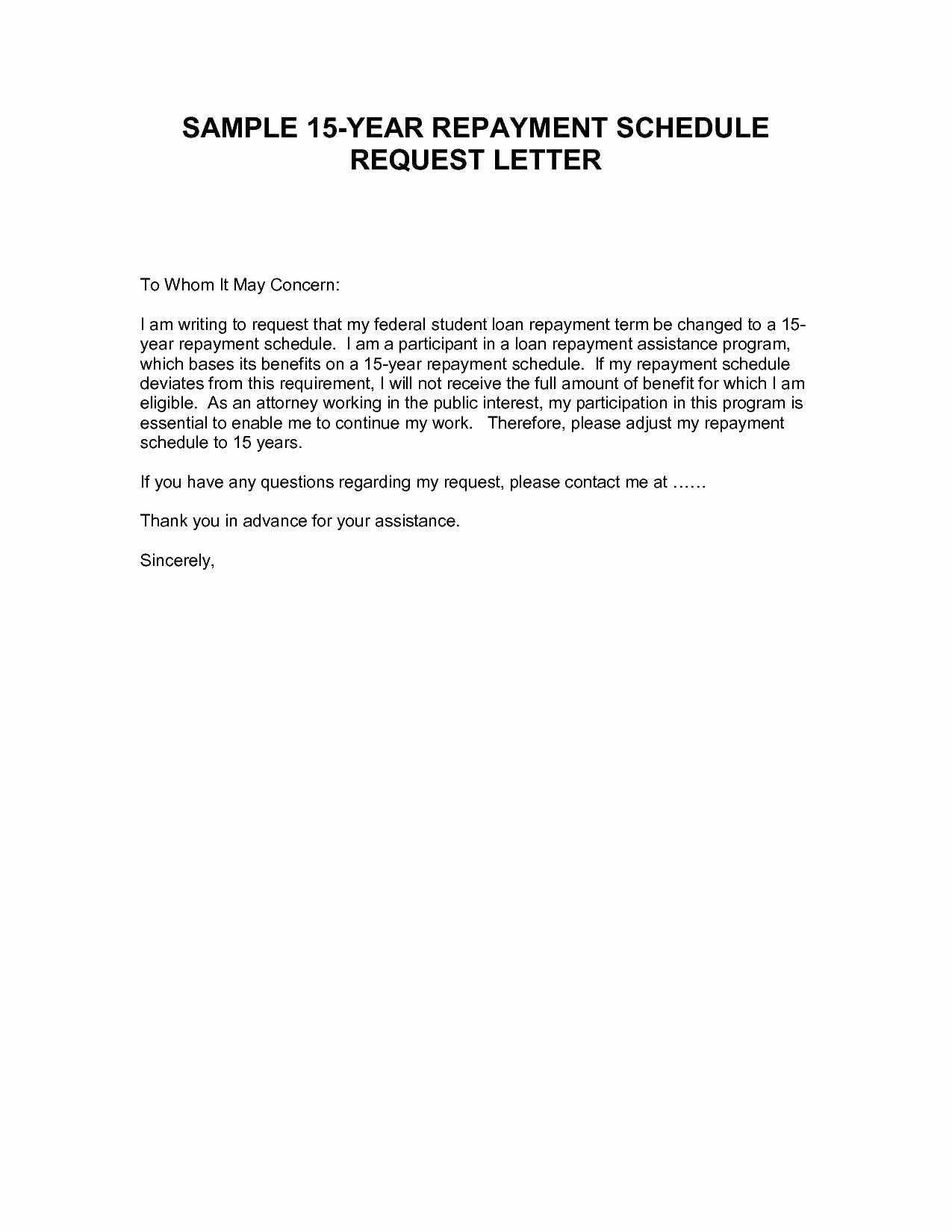 Personal Loan Letter format Elegant Personal Loan Repayment Letter Template Download