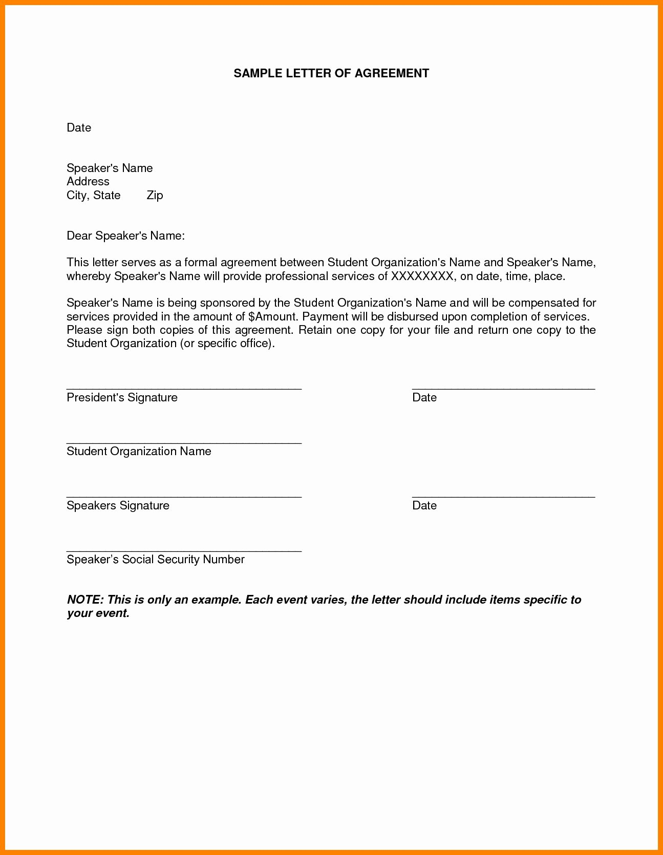 Personal Loan Letter format New Personal Loan Payoff Letter Template Samples