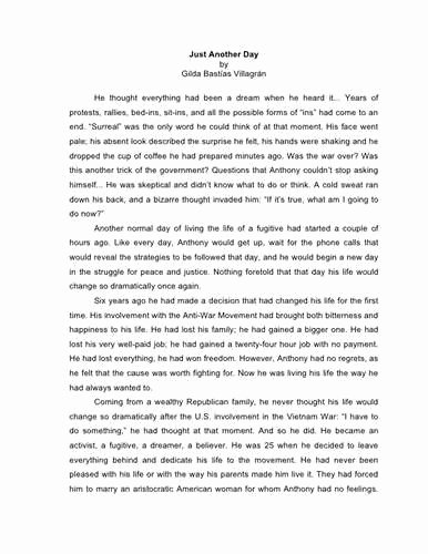 Personal Narrative Examples College Fresh Examples College Personal Narrative Essays Sample