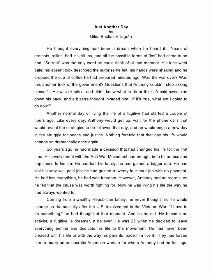 Personal Narrative Examples College Lovely Narrative Essay Gilda