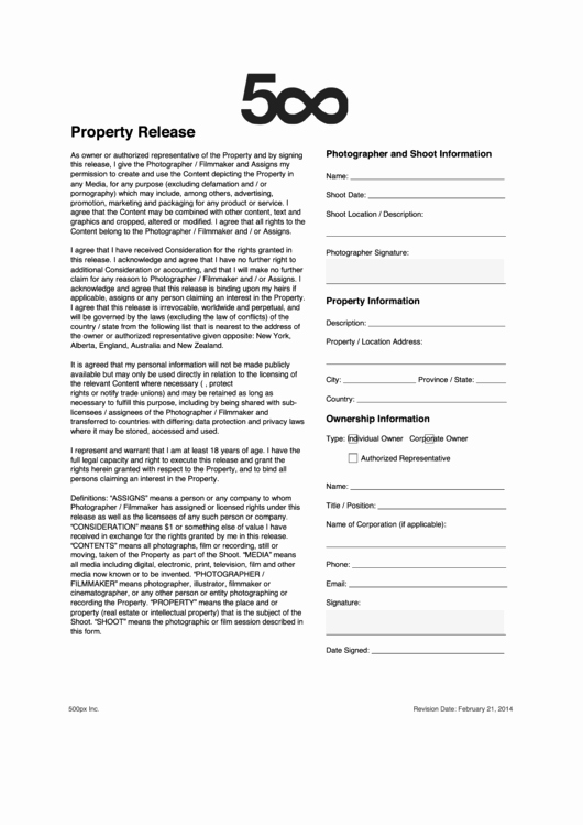 Personal Property Release form Template Lovely Fillable Property Release form Printable Pdf