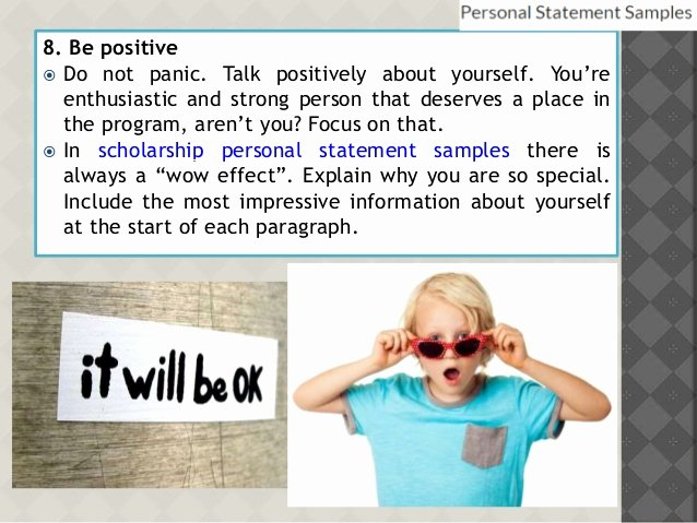 Personal Statement About Yourself Example Beautiful How to Write Powerful Personal Statement with Help Of Samples