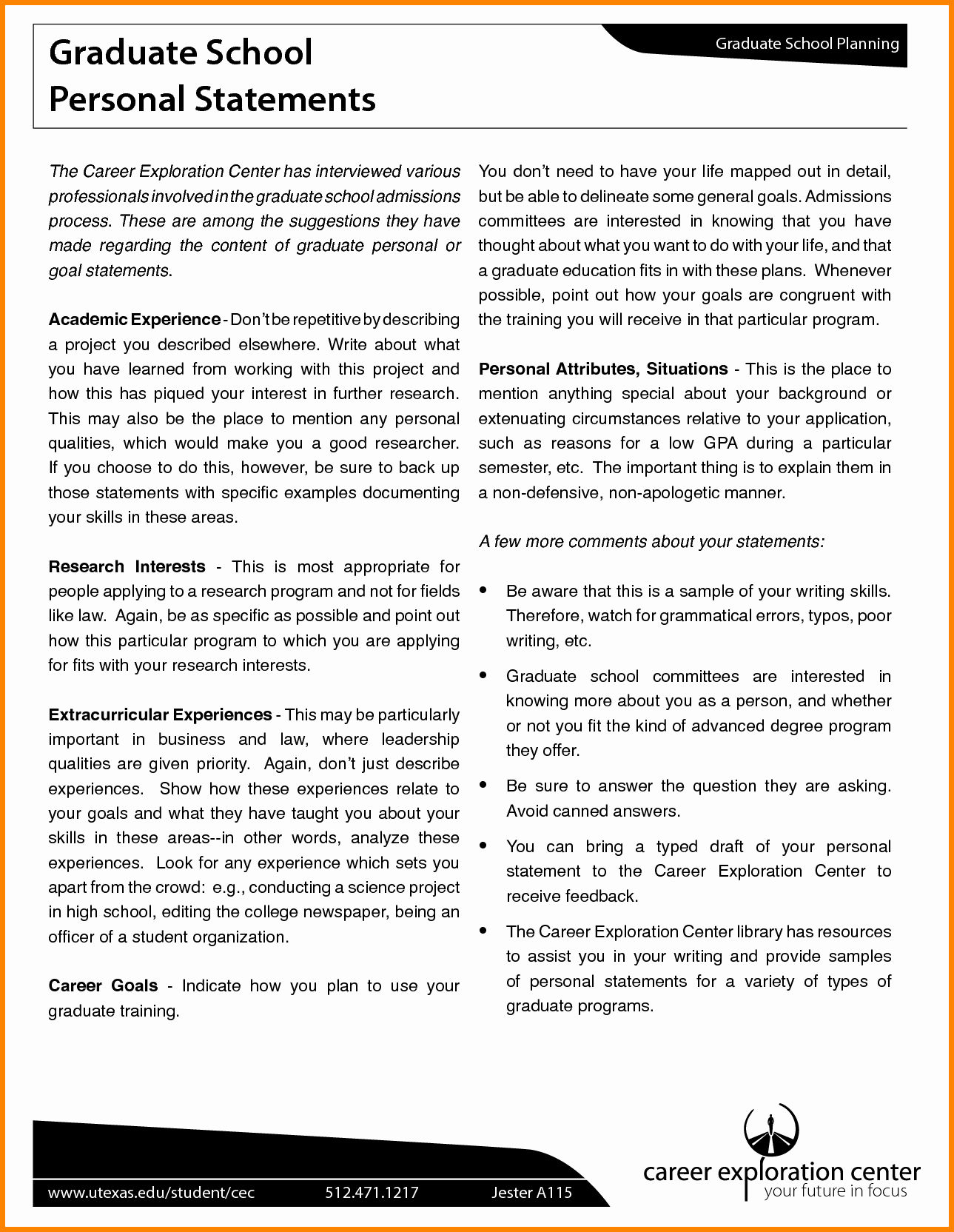 Personal Statement for Masters Degree Beautiful What Does A Personal Statement for Graduate School Look Like
