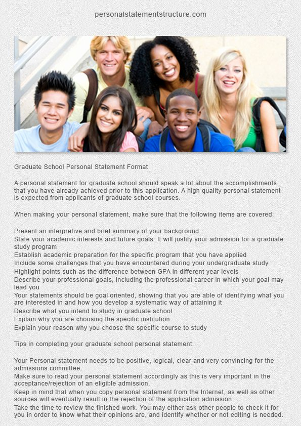 Personal Statement for Masters Degree Best Of Good Personal Statements for Graduate School Salisbury