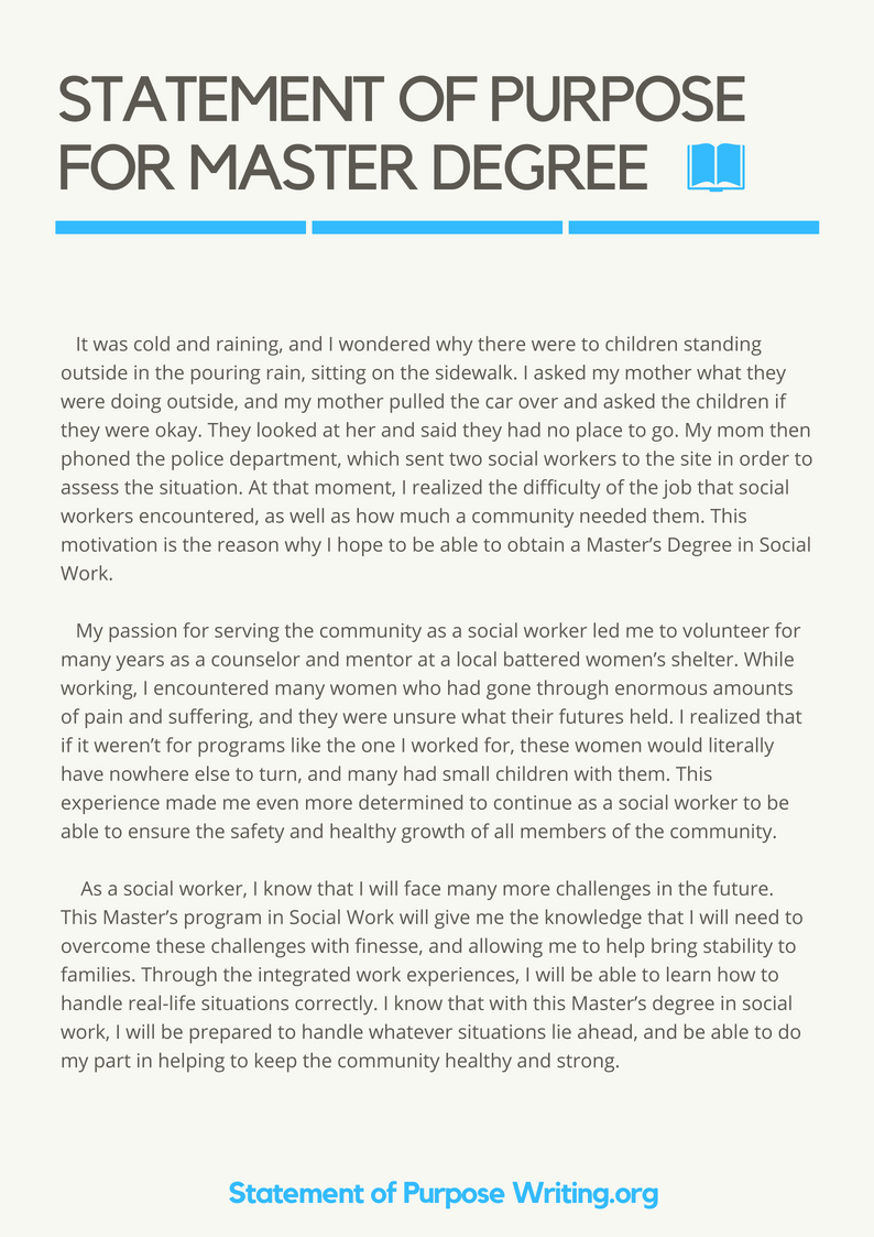 Personal Statement for Masters Degree Lovely Pin by Statement Purpose Writing Samples On Sample Of