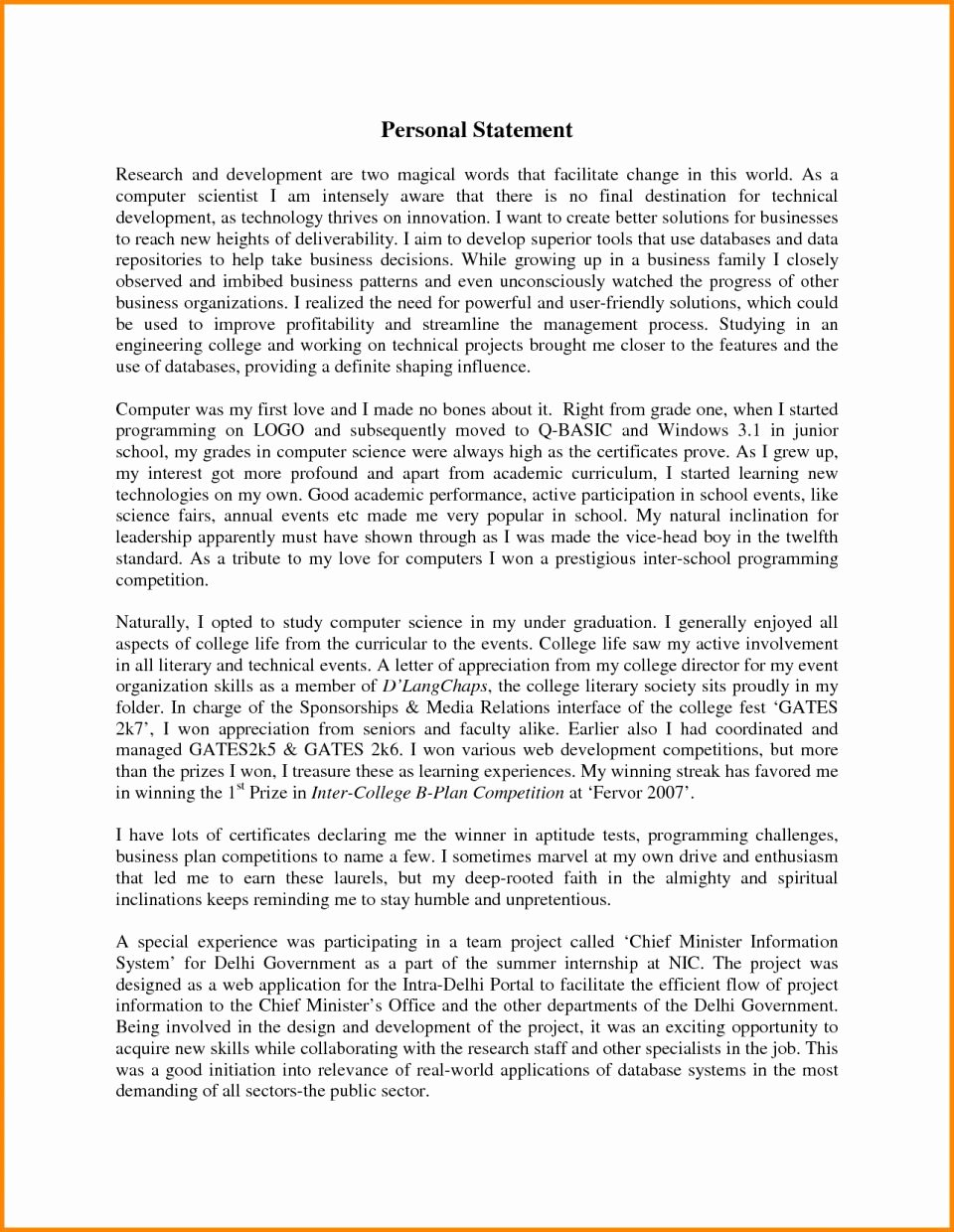 Personal Statement Of Faith Template Unique Personal Statement Faith Examples Presbyterian for Job