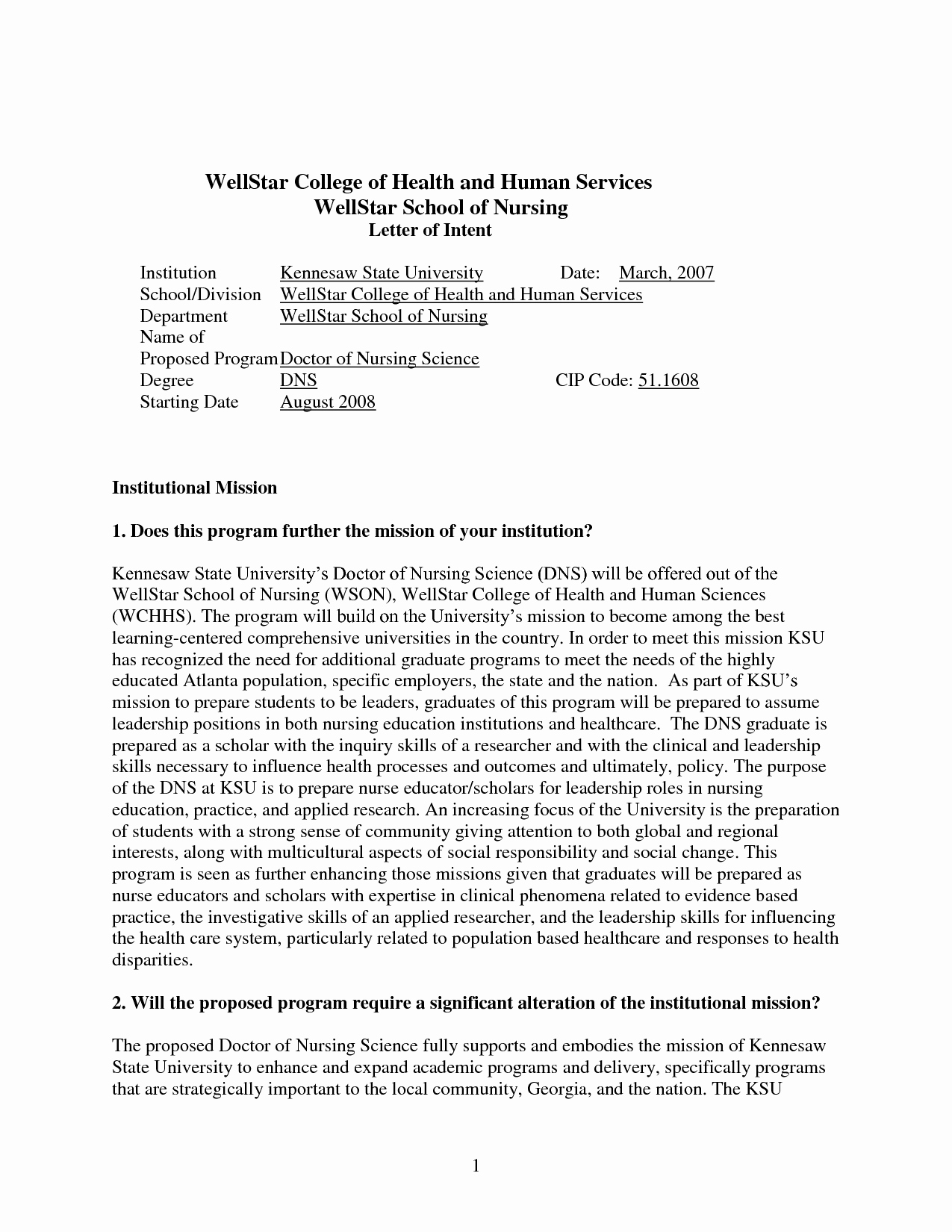 Phd Letter Of Intent Sample Best Of Sample Letter Intent for Grad School Admission