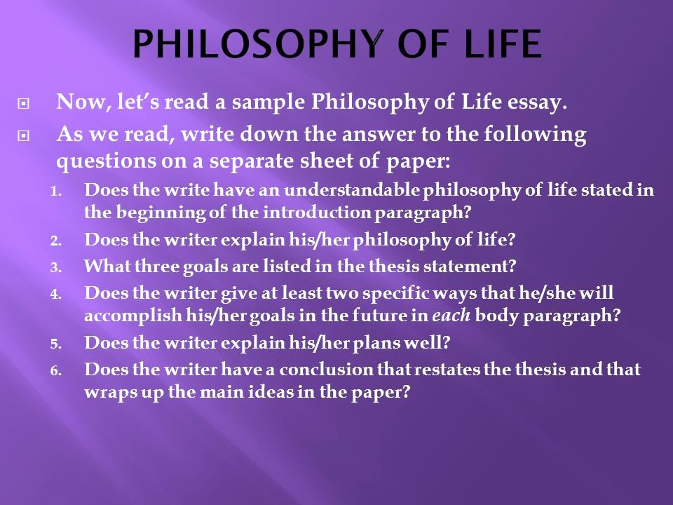 Philosophy Of Success Essay Beautiful World Literature May 2nd Ppt