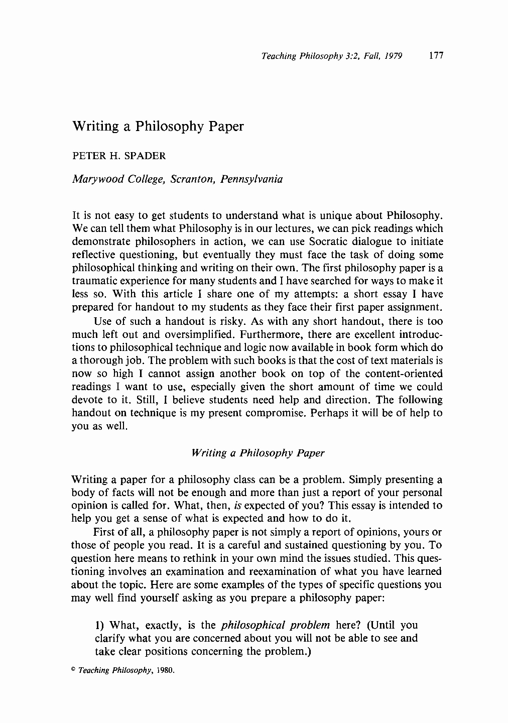 Philosophy Of Success Essay Unique Philosophical Essay Example Personal Philosophy Essay