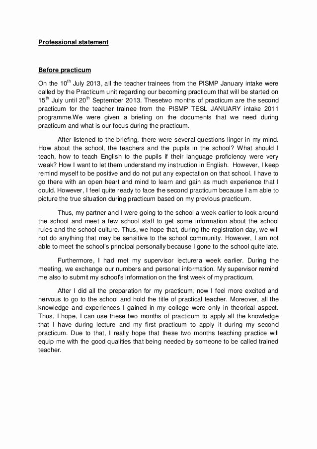 Philosophy Of Success Essay Unique Professional Statement