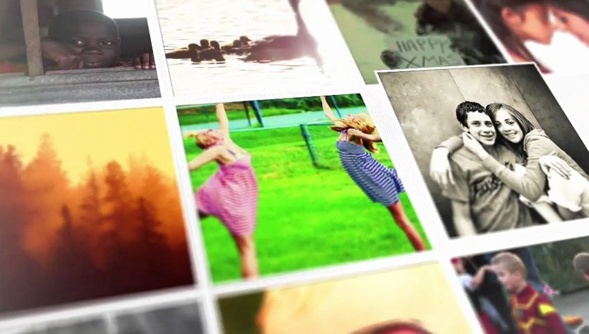 Photo Mosaic after Effects Awesome 10 Easy Slideshow Templates for Adobe after Effects