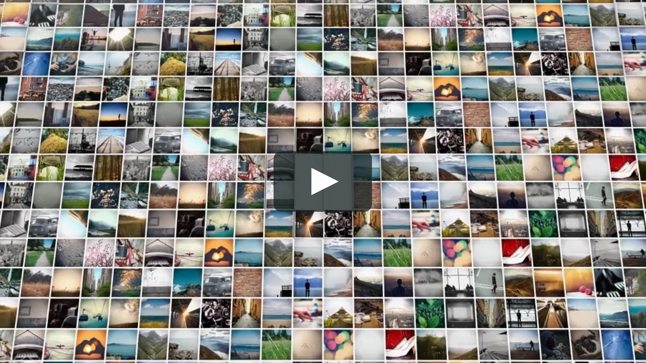 Photo Mosaic after Effects Unique after Effects Template 3d Mosaic Corporate Logo On Vimeo