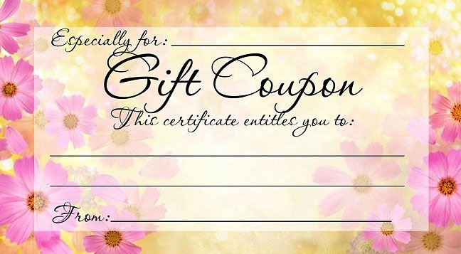 Photography Coupon Template Awesome Pin by Party Favors On Mother S Day