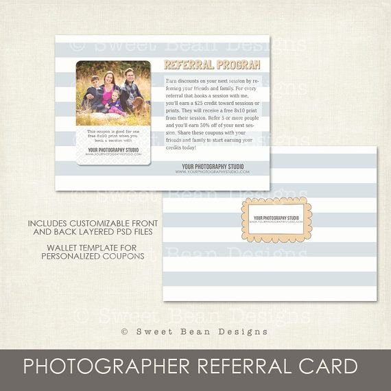 Photography Coupon Template Elegant 17 Best Graphy Referal Images On Pinterest