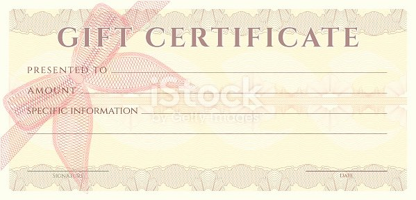 Photography Coupon Template New Voucher Gift Certificate Coupon Ticket Template Guilloche