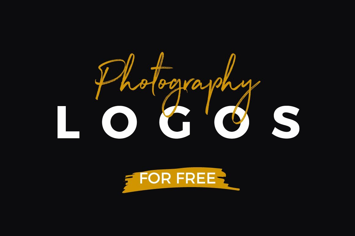 Photography Logo Design Templates Awesome 10 Free Graphy Logo Templates Creativebooster