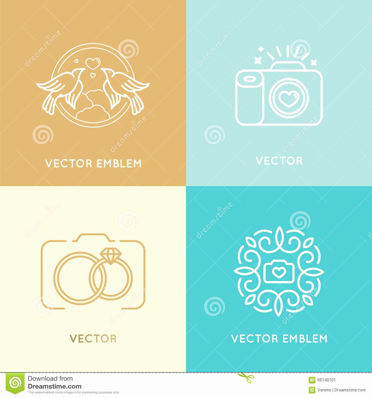 Photography Logo Design Templates Best Of Vector Set Wedding Graphy Logo Design Templates