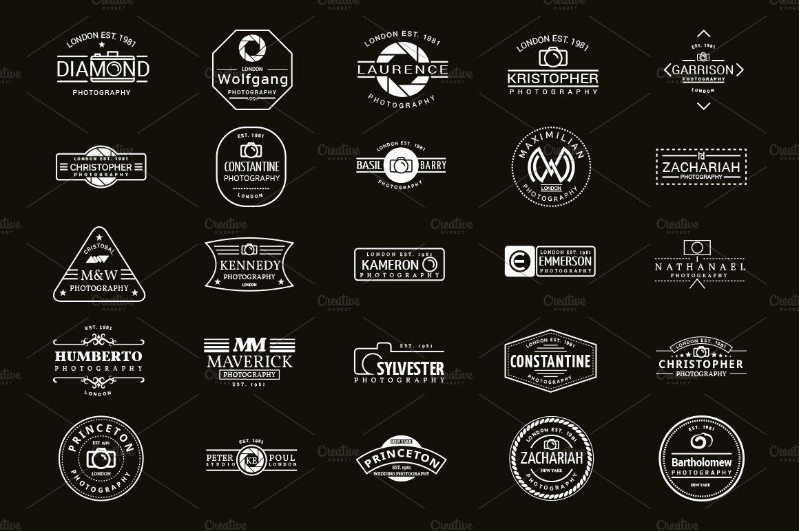 Photography Logo Design Templates Inspirational 25 Logo Designs for Graphers Logo Templates