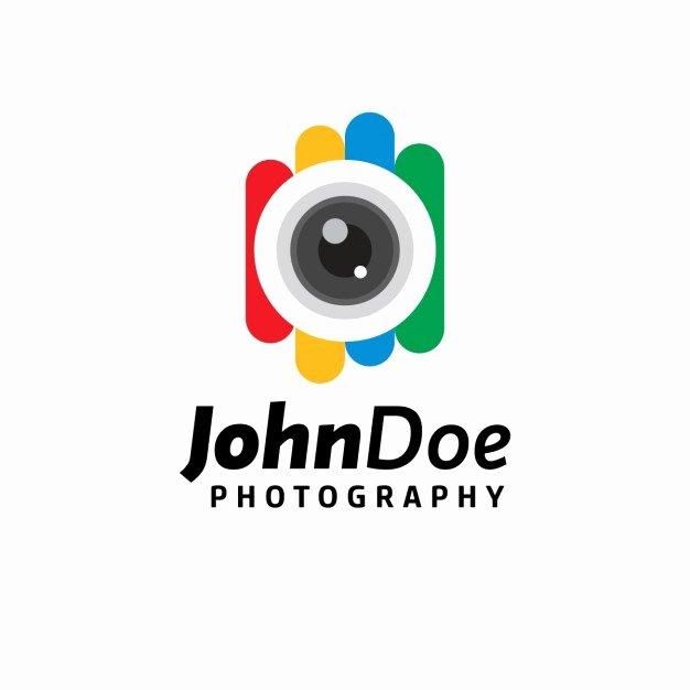 Photography Logo Design Templates Inspirational Colorful Photography Logo Template Vector