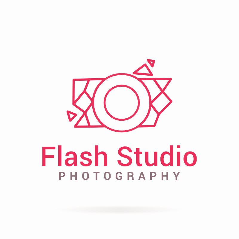 Photography Logo Design Templates Inspirational Flash Studio Graphy Logo Template