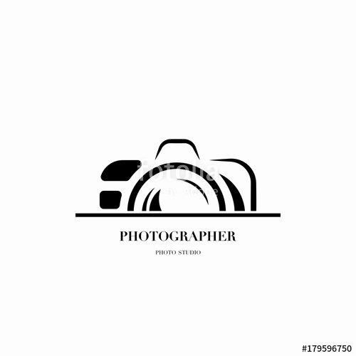 """Photography Logo Design Templates New """"abstract Camera Logo Vector Design Template for"""