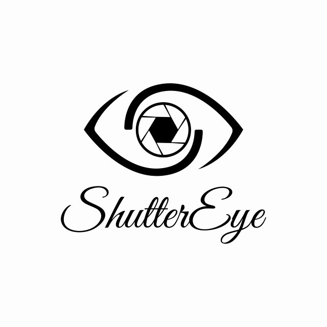 Photography Logo Design Templates Unique Vector Shutter Eye Photography Logo Design Template Black