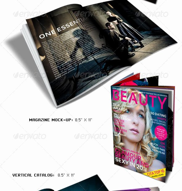 Photoshop Magazine Cover Template Beautiful 25 Shop & Indesign Magazine Cover Templates