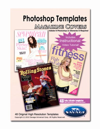 Photoshop Magazine Cover Template Beautiful Savage Adobe Shop Templates Magazine Covers