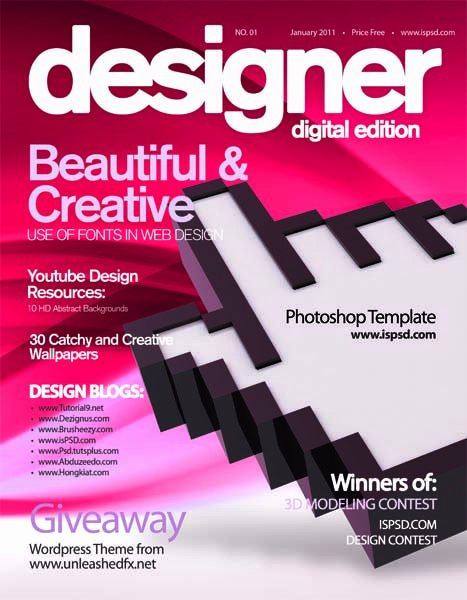 Photoshop Magazine Cover Template Luxury 30 Free Collection Templates for Brochures