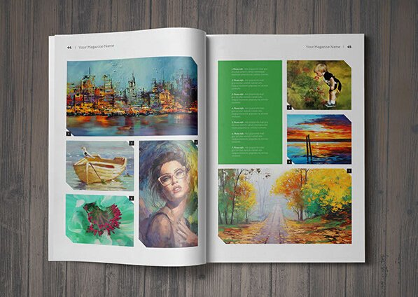 Photoshop Magazine Template Fresh 10 Best Art Magazine Templates – Shop Psd and Indesign