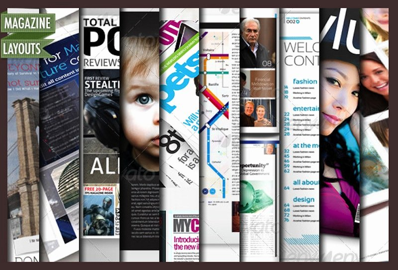 Photoshop Magazine Template Fresh 10 Full Magazine Layout Templates for Indesign and