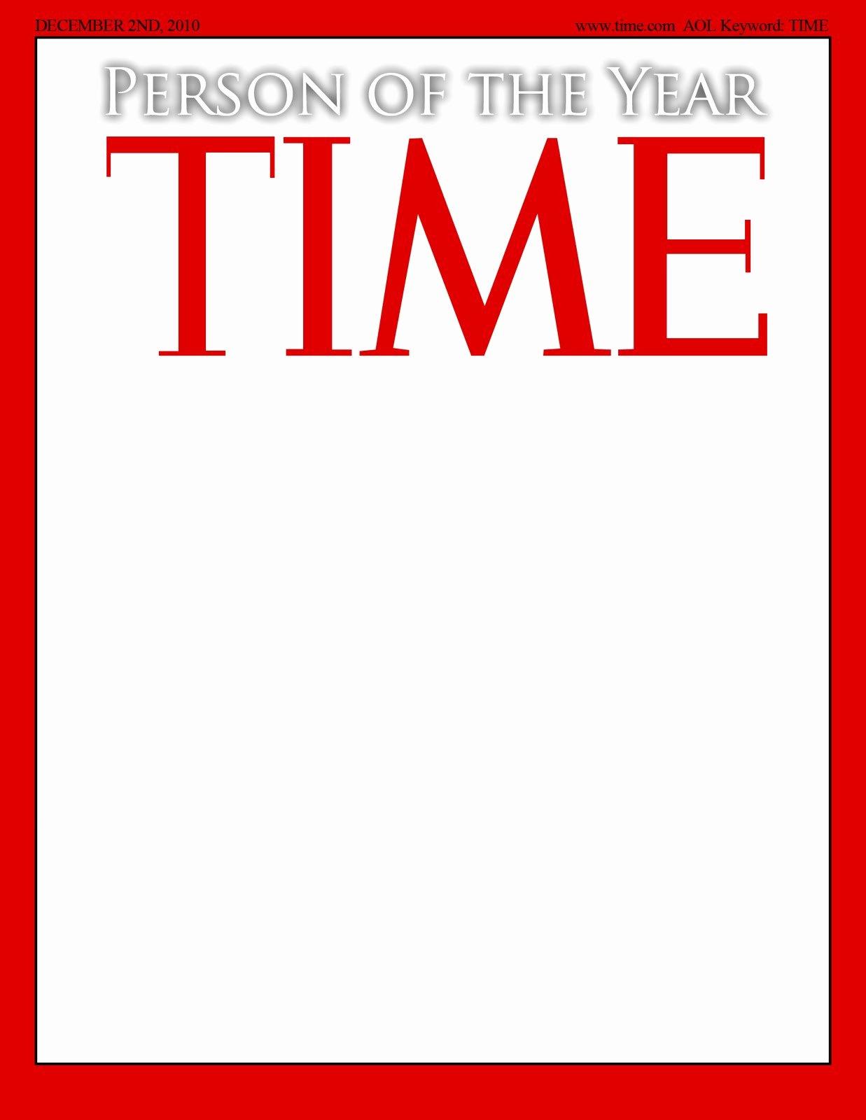 Photoshop Magazine Template Fresh Time Magazine Template