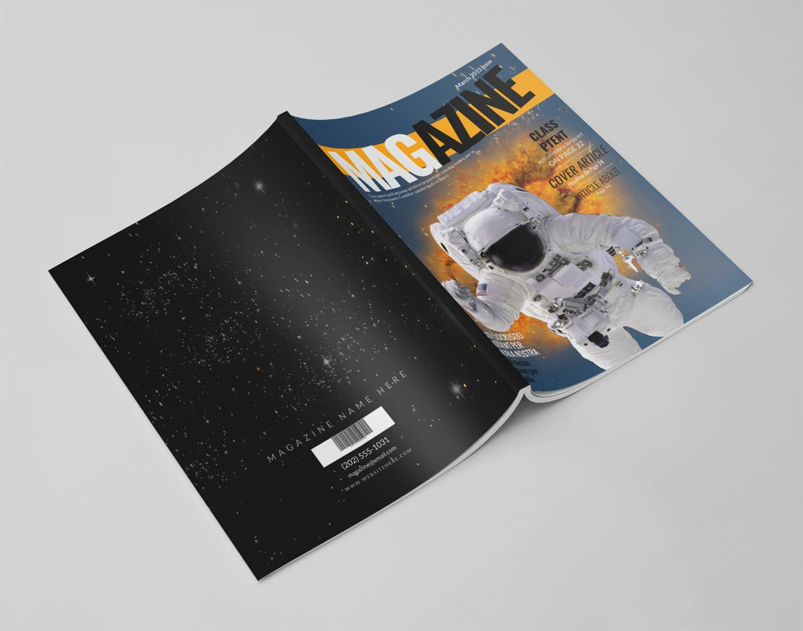 Photoshop Magazine Template New 14 Pages Shop Magazine Template Magazine Templates
