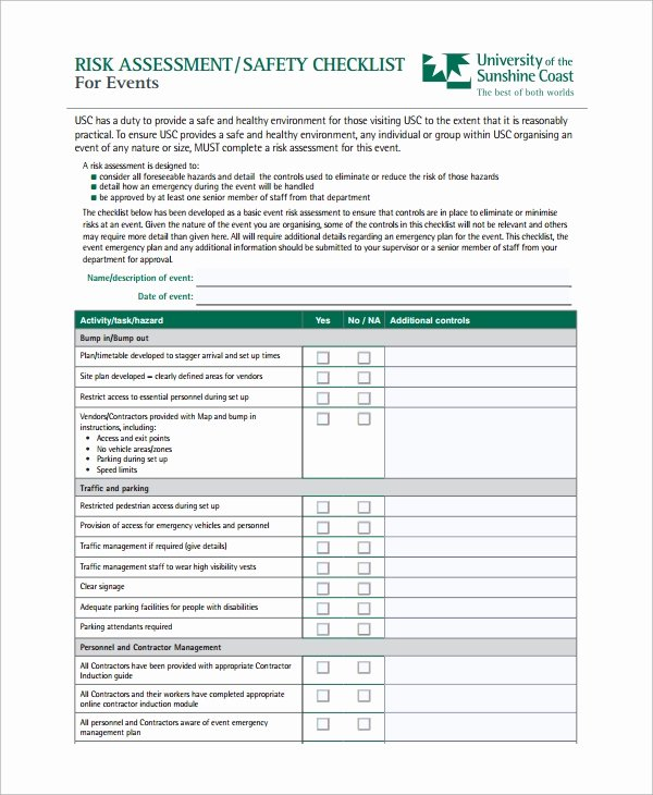 Physical Security Audit Checklist Best Of Security Audit Physical Security Audit Checklist Template
