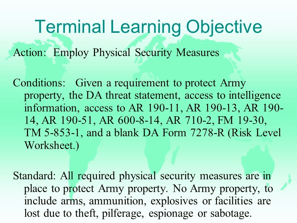 Physical Security Inspection Checklist Lovely Pyhsical Security Ppt Video Online