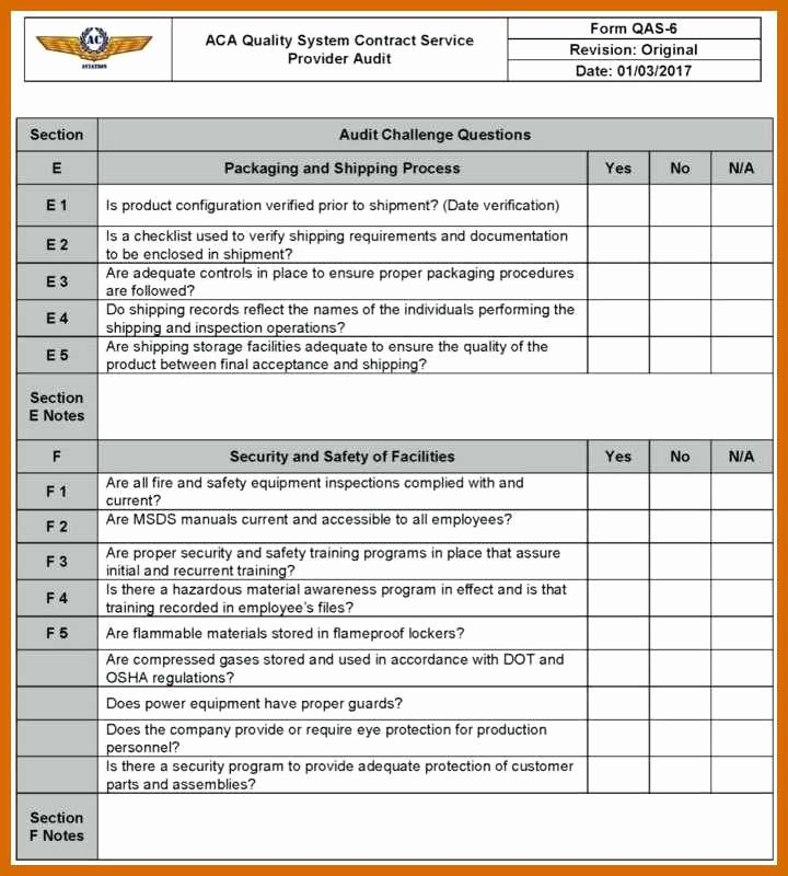 Physical Security Survey Checklist Luxury 9 10 Security Audit Template