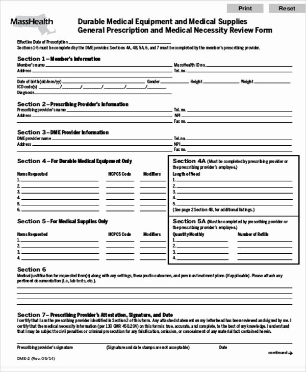 Physician order forms Templates Awesome 9 Sample Medical order forms