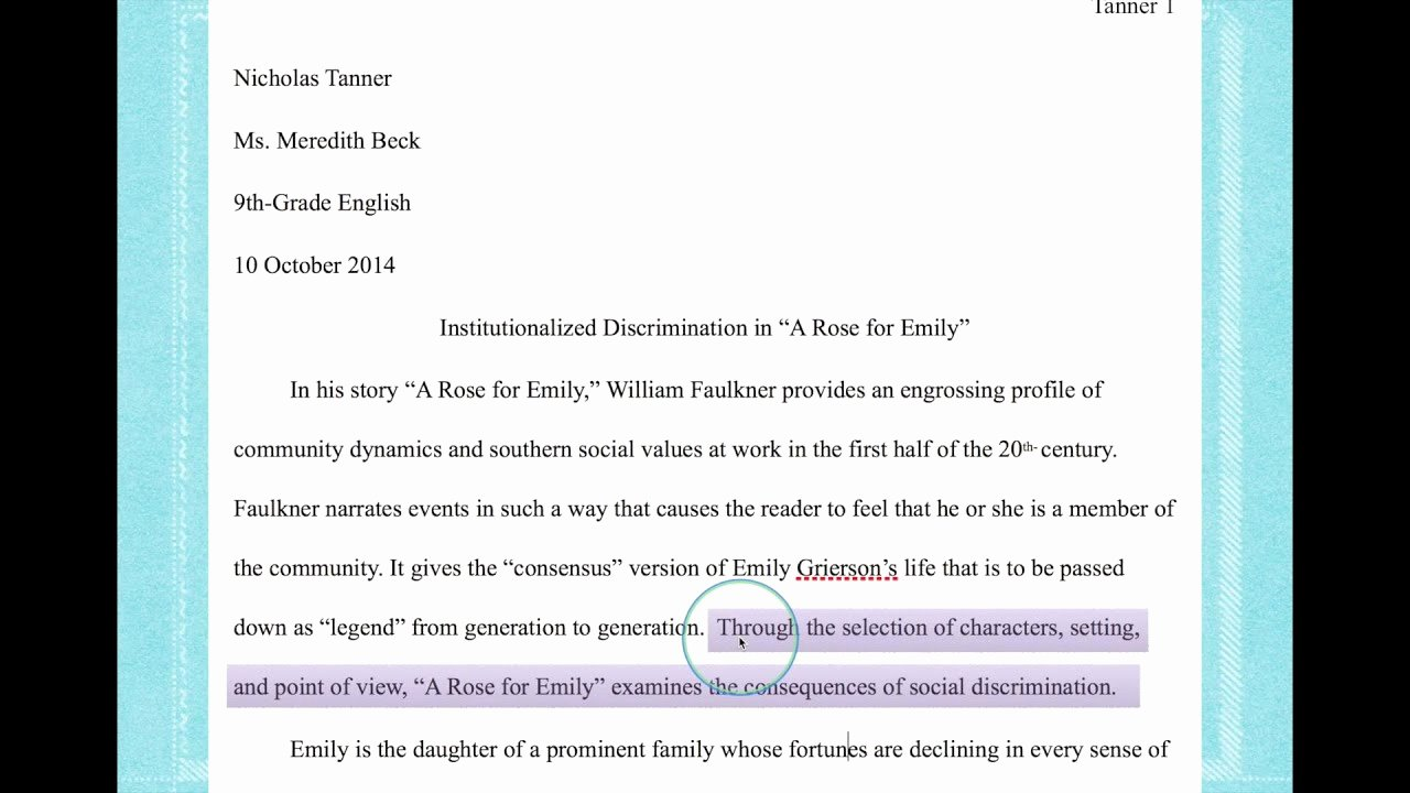 Picture Book Analysis Essay Lovely How to Write A thesis Statement for A Literary Analysis