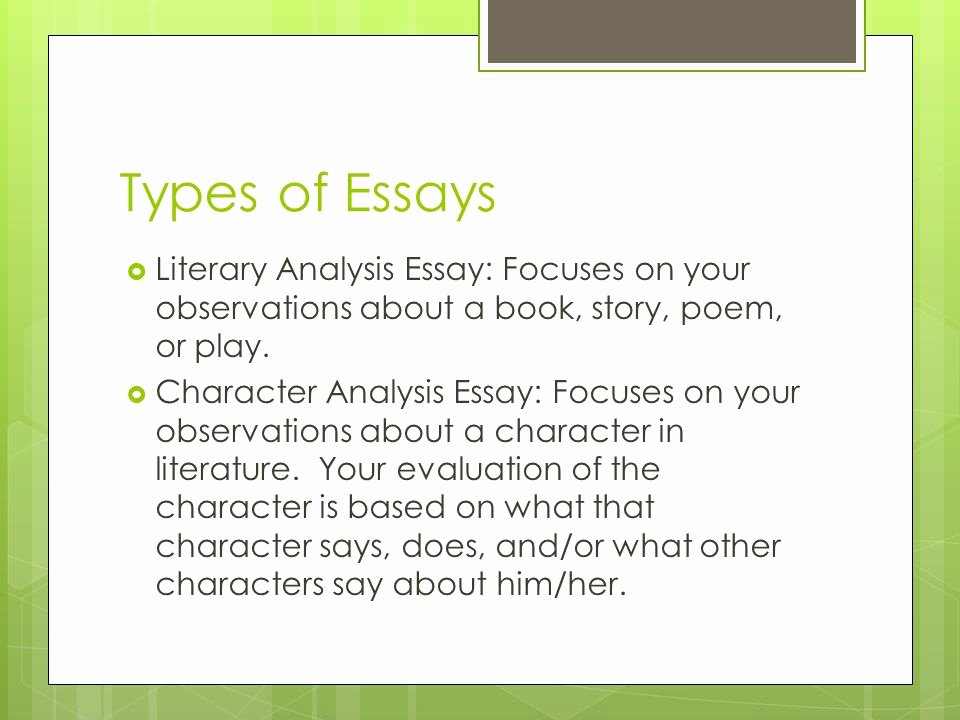 Picture Book Analysis Essay New the Essay Ppt Video Online
