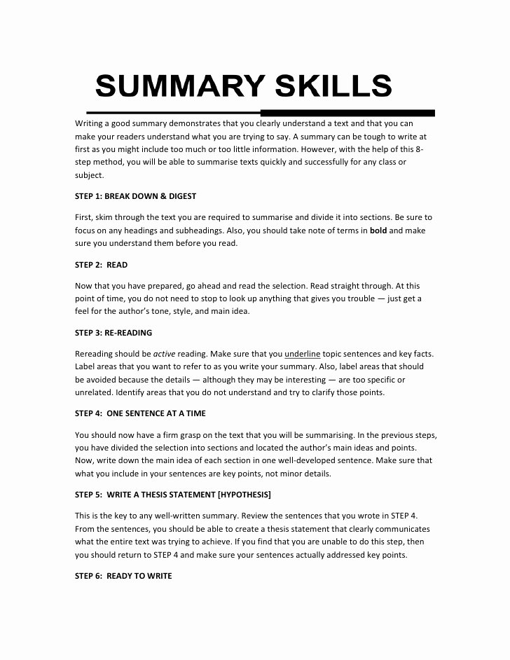 Picture Book Analysis Essay Unique Summary Writing Skills